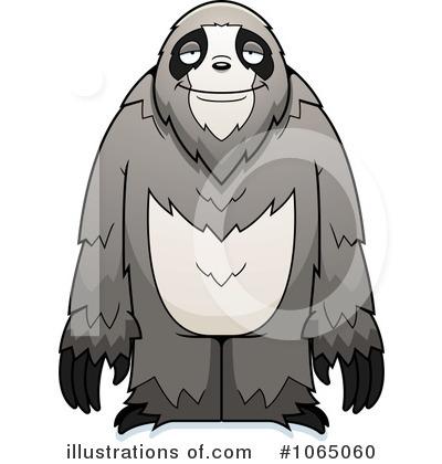 Clip Art Sloth Clipart sloth clipart 1065060 illustration by cory thoman royalty free rf thoman