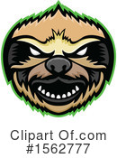 Sloth Clipart #1562777 by patrimonio