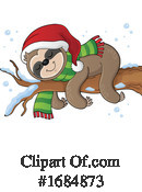 Sloth Clipart #1684873 by visekart