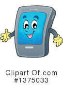 Smart Phone Clipart #1375033 by visekart