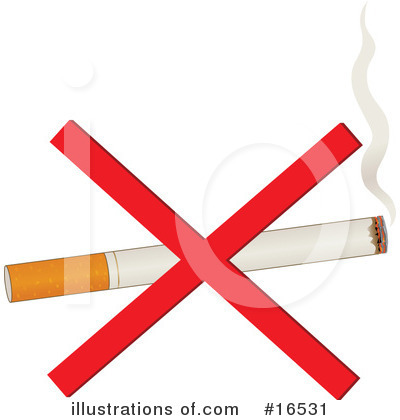 No Smoking Clipart #16531 by Maria Bell