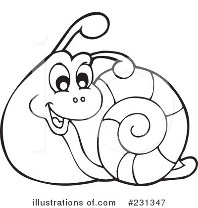 snail clipart 231347 illustration by visekart rh illustrationsof com