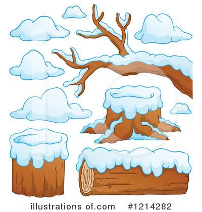 Snow Clipart #1214282 - Illustration by visekart