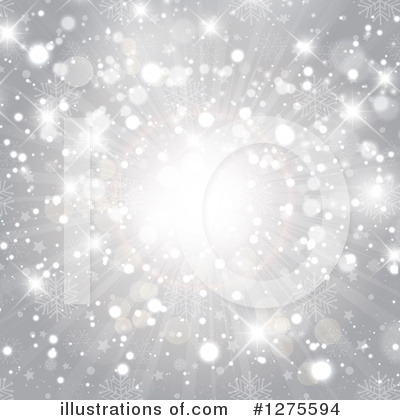 Royalty-Free (RF) Snowflakes Clipart Illustration by KJ Pargeter - Stock Sample #1275594