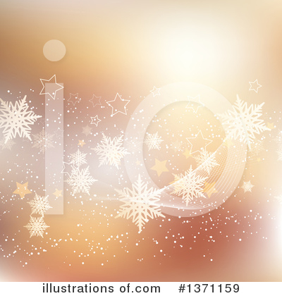 Christmas Background Clipart #1371159 by KJ Pargeter