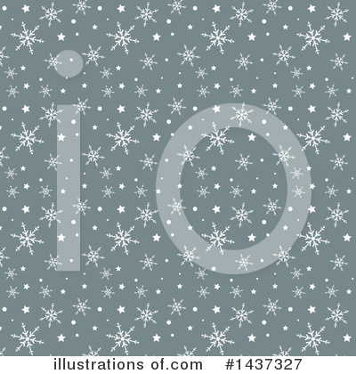 Royalty-Free (RF) Snowflakes Clipart Illustration by KJ Pargeter - Stock Sample #1437327