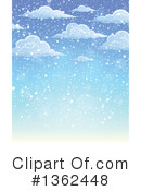 Snowing Clipart #1362448 by visekart