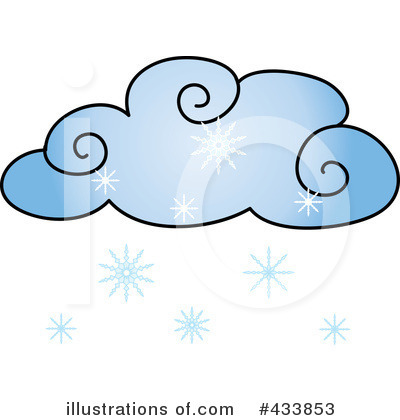 Snowing Clipart #433853 - Illustration by Pams Clipart