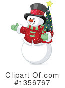 Snowman Clipart #1356767 by Pushkin