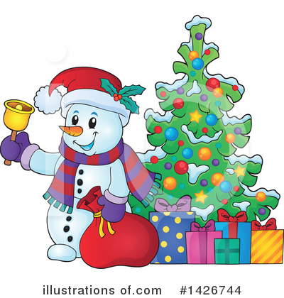 Christmas Tree Clipart #1426744 by visekart
