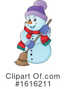 Snowman Clipart #1616211 by visekart