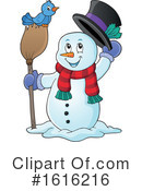 Snowman Clipart #1616216 by visekart