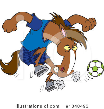 Soccer Clipart #1048493 by toonaday