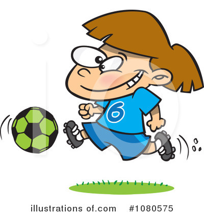 Soccer Clipart #1080575 by toonaday