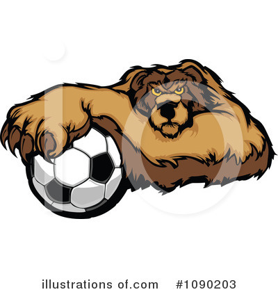 Bear Clipart #1090203 by Chromaco