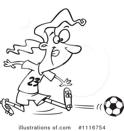 Soccer Clipart #1116754 by toonaday