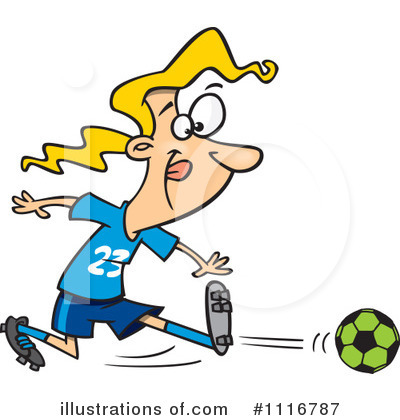 Soccer Clipart #1116787 by toonaday
