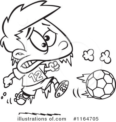 Soccer Clipart #1164705 by toonaday