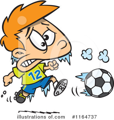 Soccer Clipart #1164737 by toonaday
