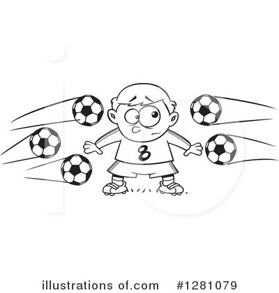 Soccer Clipart #1281079 by toonaday