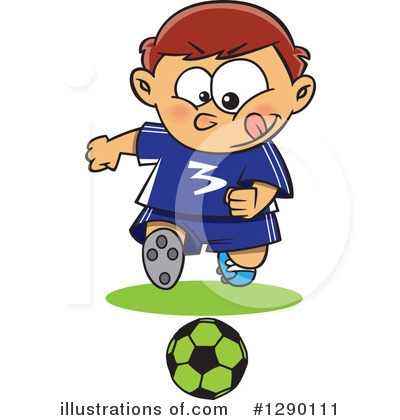 Soccer Clipart #1290111 by toonaday