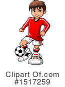 Soccer Clipart #1517259 by Clip Art Mascots