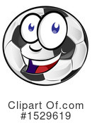 Soccer Clipart #1529619 by Domenico Condello