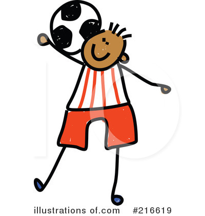 soccer clipart 216619 illustration by prawny rh illustrationsof com Free Soccer Backgrounds Soccer Team Clip Art Free
