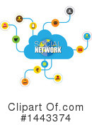 Social Network Clipart #1443374 by ColorMagic
