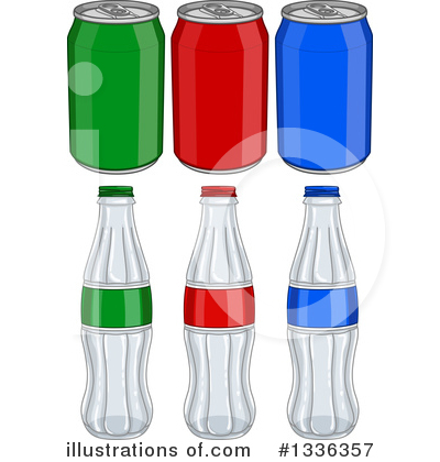 Soda Clipart #1336357 - Illustration by Liron Peer