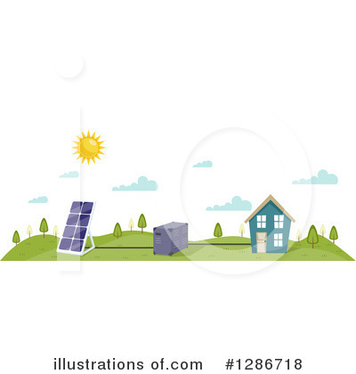 House Clipart #1286718 by BNP Design Studio