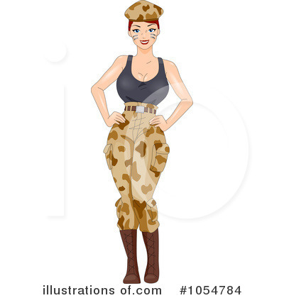 Pinup Clipart #1054784 by BNP Design Studio