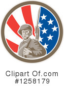 Soldier Clipart #1258179 by patrimonio