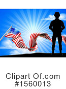 Soldier Clipart #1560013 by AtStockIllustration