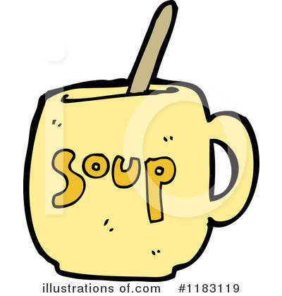 Soup Clipart #1183119 - Illustration by lineartestpilot