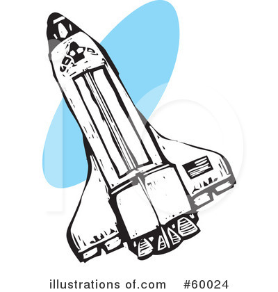 Space Shuttle Clipart #60024 - Illustration by xunantunich