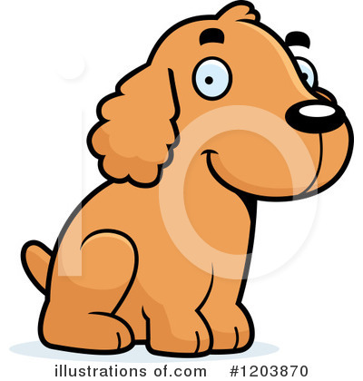 Dog Clipart #1203870 by Cory Thoman