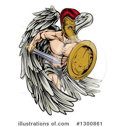 Guardian Angel Clipart #1300861 by AtStockIllustration