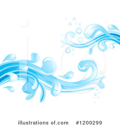 Waves Clipart #1200299 by BNP Design Studio