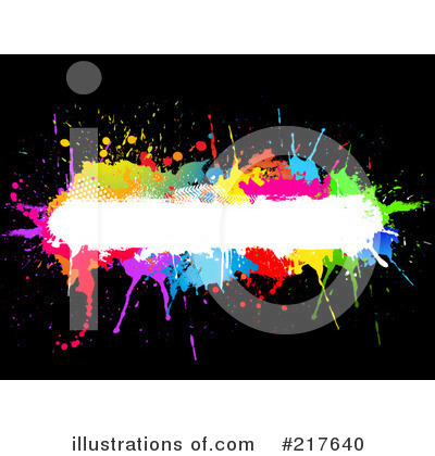 Royalty-Free (RF) Splatters Clipart Illustration by KJ Pargeter - Stock Sample #217640
