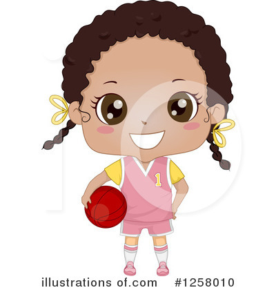 Girl Clipart #1258010 by BNP Design Studio