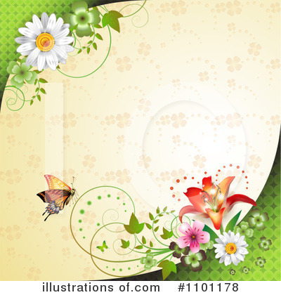 Royalty-Free (RF) Spring Background Clipart Illustration by merlinul - Stock Sample #1101178