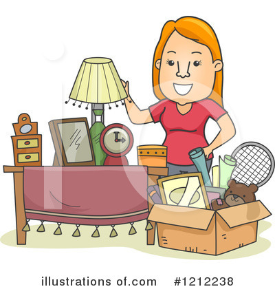 Spring Cleaning Clipart #1212238 - Illustration by BNP ...