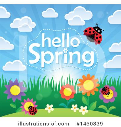 Ladybug Clipart #1458465 - Illustration by visekart