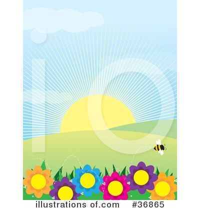 Bee Clipart #36865 by Maria Bell