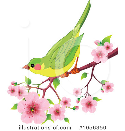 Royalty-Free (RF) Spring Time Clipart Illustration by Pushkin - Stock Sample #1056350
