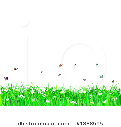 Royalty-Free (RF) Spring Time Clipart Illustration by KJ Pargeter - Stock Sample #1388595