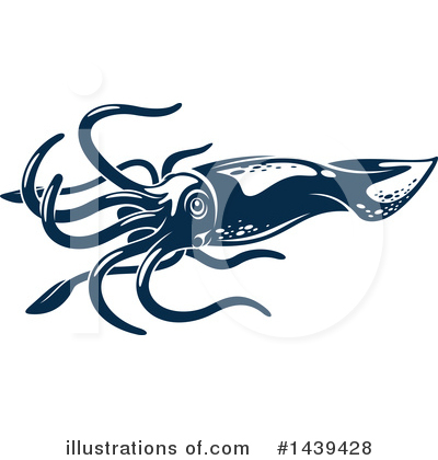 Sea Life Clipart #1439428 by Vector Tradition SM