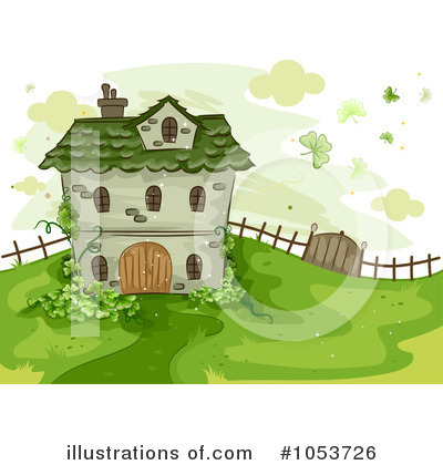 House Clipart #1053726 by BNP Design Studio