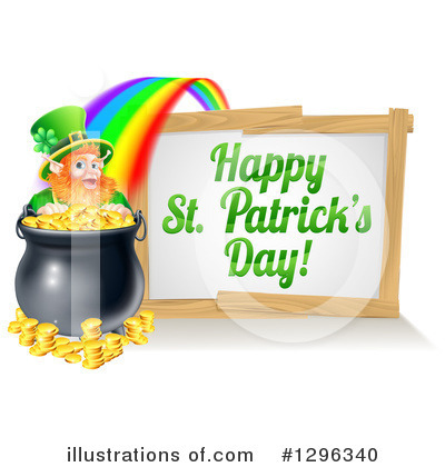 Leprechaun Clipart #1296340 by AtStockIllustration